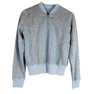 Freestyle a Danskin Co. Blue Zip Up Sweater Small